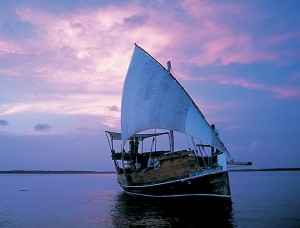 For those preferring to stay on top of the Indian Ocean how about a romantic sunset dhow cruise?