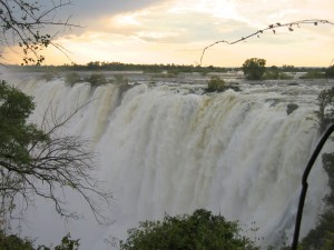 One could spend hours gazing at Victoria Falls as the light changes throughout the day.