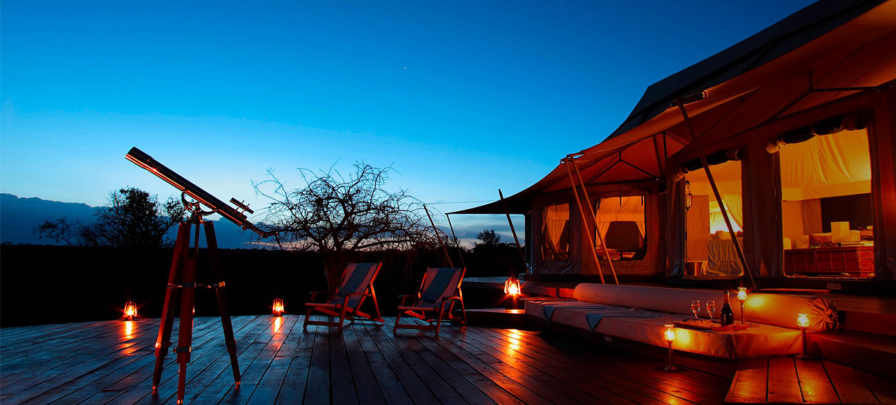 luxury flying safaris