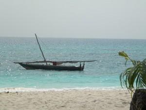 Who can resist a swim in idyllic Zanzibar island waters?