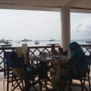 Freddy Mercury, the lead singer of Queen, was born on the island of Zanzibar on 5 September 1946. This beachside restaurant and bar in Stone Town is called Mercury and plays his tracks day and night.
