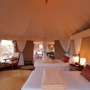Wonderfully appointed accommodation at Olseki Camp in Naboisho conservancy.