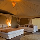 Enjoy staying in a luxury ensuite tent in the Masai Mara National Reserve. We call this glamping on safari!
