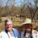 Just outside of Livingstone is one of the few places in the world where you can trek endangered Rhinoceros