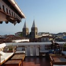 Overlook the historic town of Stone Town from one of the many roof top restaurants.