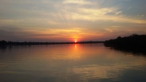 After an active day discovering everything Livingstone and Victoria Falls has to offer there is nothing better than sitting back, sundowner in hand and watching the sun set over the Zambezi River.