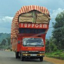 On a guided self drive safari you get to see things that most other tourists miss, like the colourful trucks, cars and buses sharing the roads
