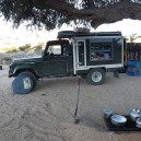 Nothing beats camping and cooking on fire in the middle of Namibia