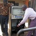 This service station in Malawi still pumps diesel by hand