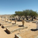 The Commonwealth War Memorial Cemetery in Namibia near Aus is one of the few monuments left honouring German and allied fallen soldiers. Unknown to many East and Southern Africa was very much involved in WW1 and WW2.