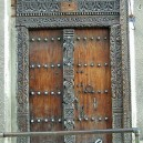 Beautiful original Zanzibar doors are still very much a feature throughout Stone Town