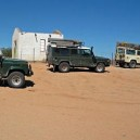 Taking a pit stop, stretch the legs and take a stroll around the Commonwealth war graves near Aus, Namibia