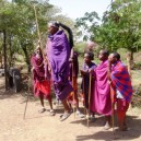 The Masai in East Africa are well known for their ability to jump high in the air. The Masai are as iconic in East Africa as the Zulu are in South Africa.