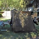 Camping in style in Oz Tents on our Cairo to Cape overland