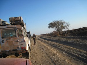 A guided self drive gets you off the highway and into real Africa
