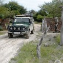 You cannot drive an iconic land rover through East Africa and expect to keep it clean.