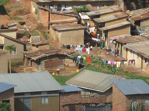 A classic village in East Africa