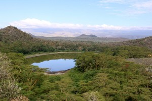 Discover the beauty of Lake Chala, an unknown gem next to Mt Kilimanjaro