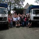 We have a fleet of overland trucks so you are not limited to how many people you have for a group charter