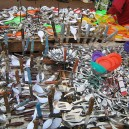 You have all heard of the fruit and vegetable market … what about the cutlery market? This unique section of market stalls in Nairobi is colourful and unique.