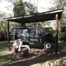 The Nightingale was George Adamson's original land rover he used to track wildlife in the bush up until his death in 1989. George was one of the first conservationists in East Africa.
