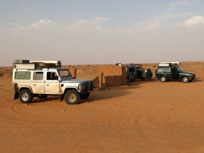 Our vehicles equipped and on their way to Cairo to start the World record attempt Cairo to Cape by foot