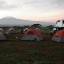 On this school trip we woke up in the morning to be greeted by Mt Kilimanjaro, that was before we climbed it!