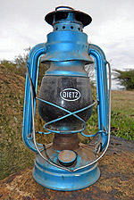 Kerosene lanterns are all poor rural families in East Africa can afford for lighting, these lanterns cause numerous respiratory and eye problems