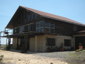 Napenda Solar Community base and accommodation for visiting groups in Kenya