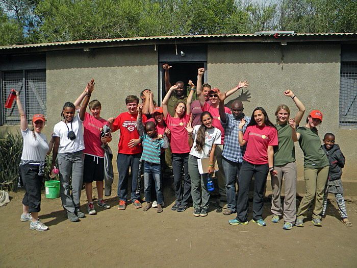 Time to celebrate another successfully installed solar power system with Napenda Solar Community and Africa Expedition Support.