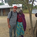 Making some time to bond with Mama Loti in Tanzania; she has lived her entire life without electricity and no formal education she is very happy her grandchildren now have both thanks to Napenda Solar Community