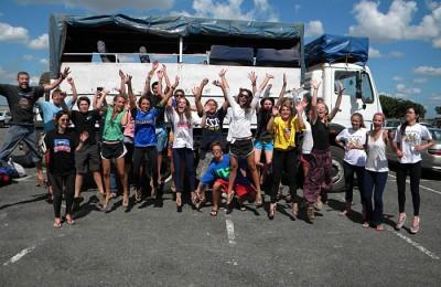Travel through Africa in a custom built 4WD overland safari truck
