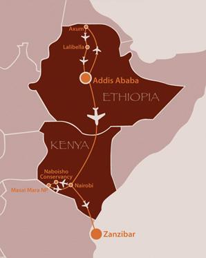 Ethiopia Masai Mara Zanzibar Safari