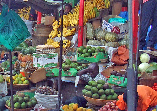 There is no shortage of fresh fruit and vegetables in Africa