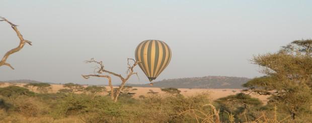hot air ballooning safari in Africa