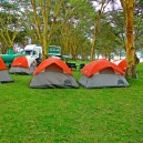 We choose to stay at the best campsites with the softest greenest grass and most picturesque settings