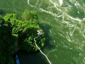 Nothing gets the heart pumping like bungee jumping over the Nile River