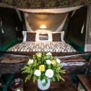 In the Masai Mara we stay in a luxury safari tented camp fully equipped with an ensuite